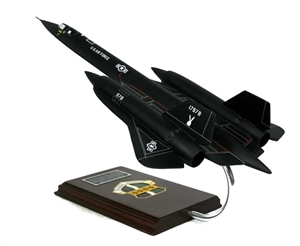 SR-71 Blackbird airplane aircraft model