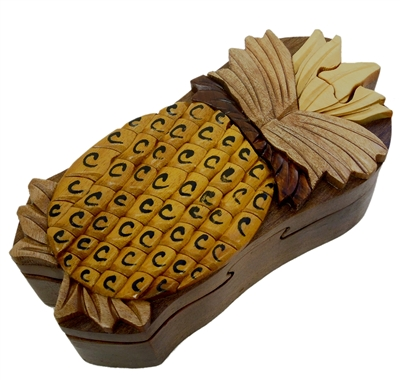 Pineapple Puzzle Box