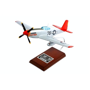 "P-51C Tuskegee ""Kitten"" signed by Charles McGee"
