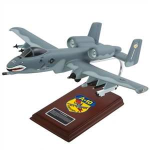 A-10 Thunderbolt airplane aircraft model