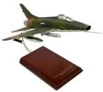 F-100 Super Sabre airplane aircraft model
