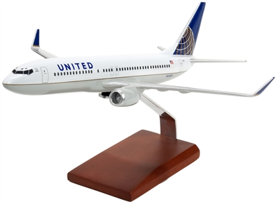 UNITED 737-800 1/100 POST CONTINENTAL MERGER