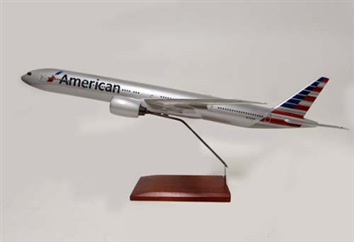 AMERICAN 777-300 1/100 NEW LIVERY