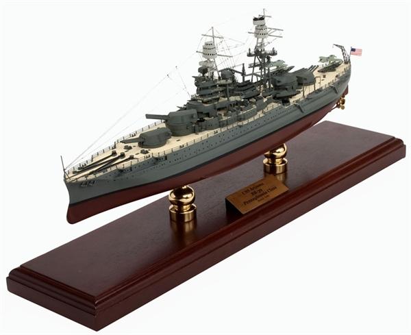 Military Tanks For Sale >> USS ARIZONA W/SIGNATURE PLAQUE 1/350
