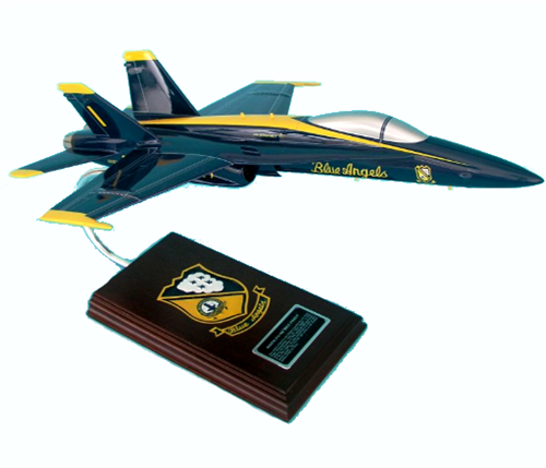 F/A-18A BLUE ANGELS NAVY 1/38