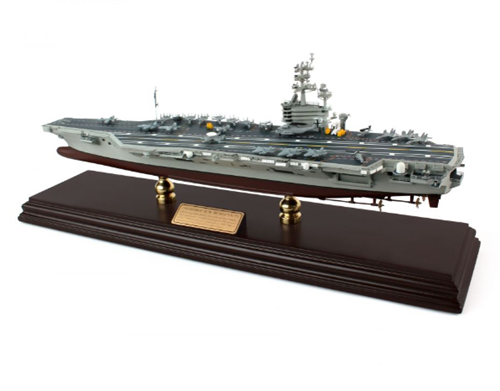 GEORGE HW BUSH AIRCRAFT CARRIER 1/700 CVN77