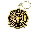 Fire Dept Key Chain