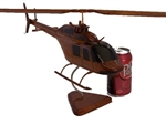 Bell 206 chopper helicopter model