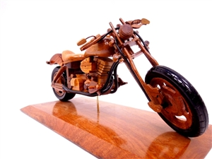 Chopper Bike With Base