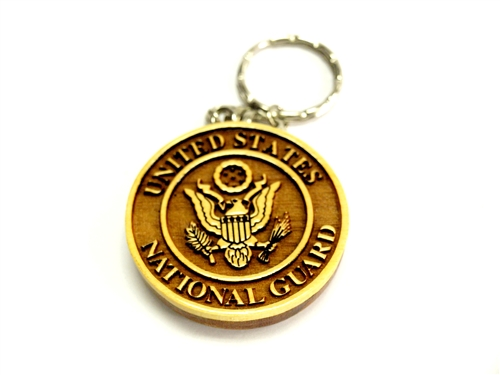 National Guard Key Chain