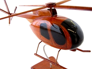ah-6 little bird chopper helicopter model