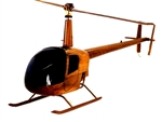 Robinson r-22 Helicopter chopper helicopter model