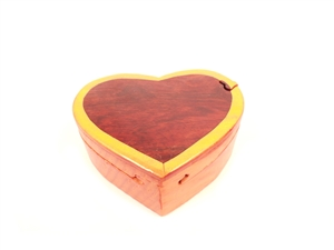 Single Heart Puzzle Box