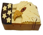 USA Eagle Puzzle Box